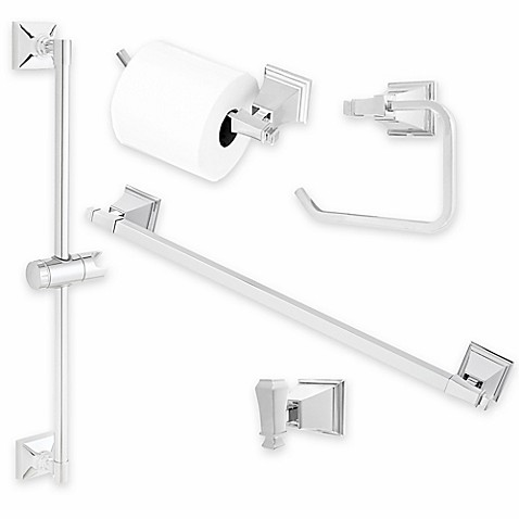 Rainier™ Bath Hardware Collection in Polished Chrome at Bed Bath & Beyond in Cypress, TX | Tuggl
