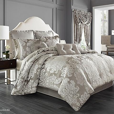 Buy J Queen New York Chandelier King Comforter Set In