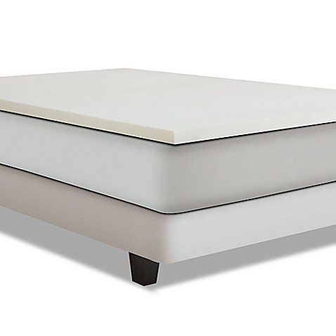 Independent Sleep 3 Inch Combination Memory Foam Mattress Topper by Bed Bath And Beyond