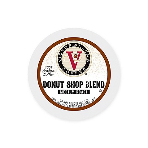 80 Count Victor Allen Donut Shop Blend Coffee For Single