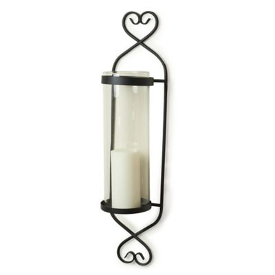 Danya B. Classic Cylinder Wall Sconce in Iron/Glass - Bed Bath & Beyond