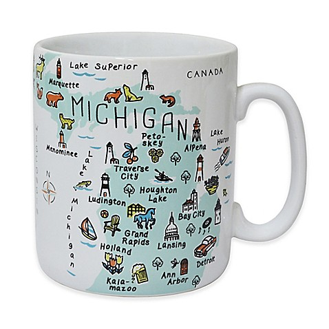 "My Place ""Michigan"" Jumbo Mug at Bed Bath & Beyond in Cypress, TX   Tuggl"