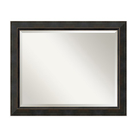 Signore Bathroom Mirror in Bronze Bed Bath & Beyond