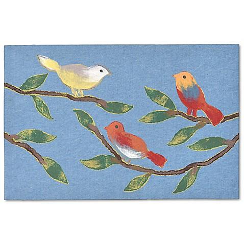 Liora Manne Visions Iii Chirp Birds 20 Inch X 30 Inch