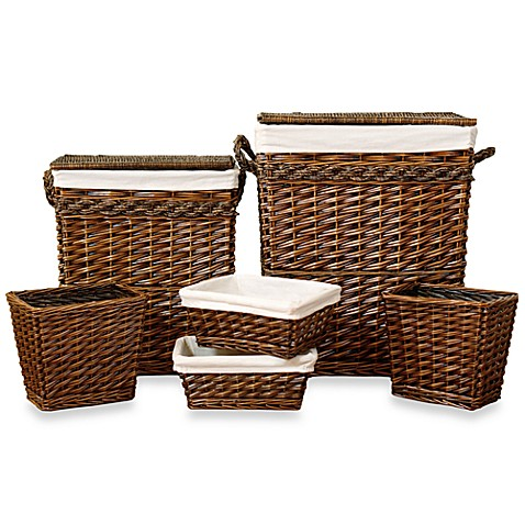 Weston 6 Piece Hamper Set Bed Bath amp Beyond
