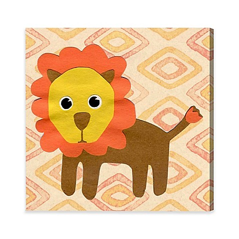 Olivia\'s Easel 16-Inch x 16-Inch Lion King Canvas Wall Art - Bed ...