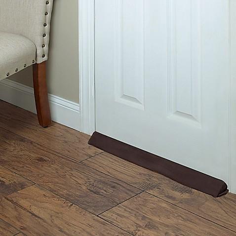 Wind Wedge Draft Blocker In Brown Bed Bath Amp Beyond