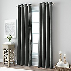 Grey Window Curtains Amp Drapes Pattern Bed Bath Amp Beyond