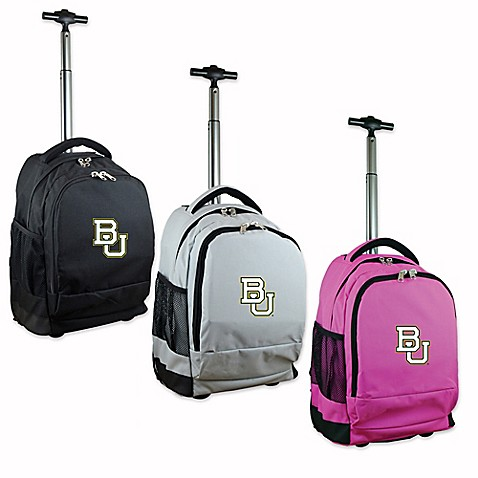 baylor university 19 inch wheeled backpack bed bath & beyond