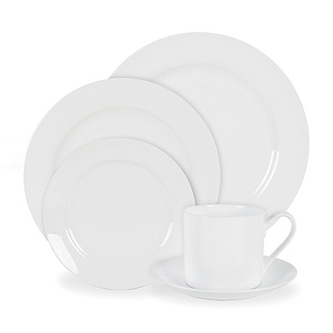 Nevaeh White® by Fitz and Floyd® Grand Rim Dinnerware Collection at Bed Bath & Beyond in Cypress, TX | Tuggl
