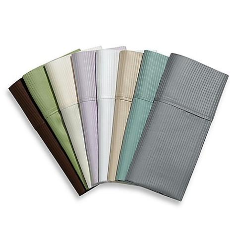 Eucalyptus Origins™ 100% Tencel® Lyocell 400-Thread-Count Striped Sheet Set at Bed Bath & Beyond in Cypress, TX   Tuggl