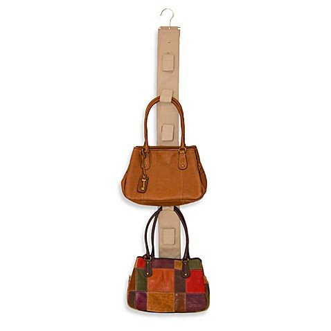 Handbag hang up natural purse hanger for Hooks to hang purses