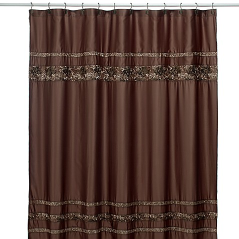 Croscill Mosaic Tile 72 Inch X 84 Inch Fabric Shower Curtain Bed Bath Beyond