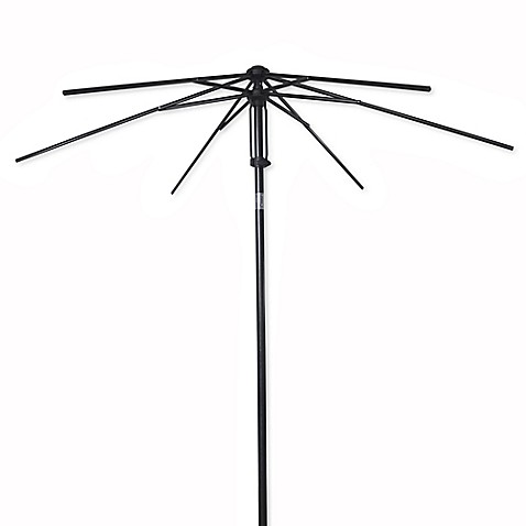 7 5 Foot Round Steel Umbrella Frame With Fabric Bag Bed