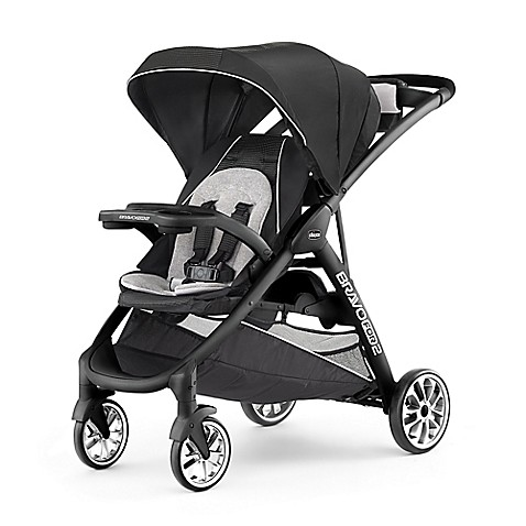 chicco bravofor2 double stroller in genesis buybuy baby. Black Bedroom Furniture Sets. Home Design Ideas