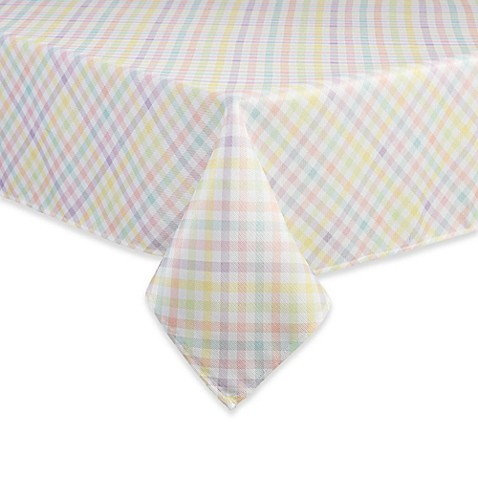Spring Splendor Gingham Tablecloth in Multi at Bed Bath & Beyond in Cypress, TX | Tuggl