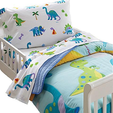 Olive Kids Dinosaur Land Toddler Sheet Set Buybuy Baby