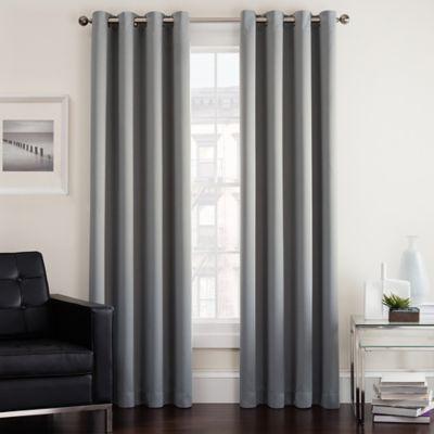 Twilight Room Darkening Grommet Window Curtain Panel Bed