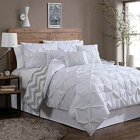 Avondale Manor Ella 7 Piece Reversible Comforter Set Bed