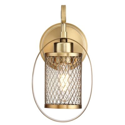 Wall Lamps Bed Bath Beyond : Filament Design Harlow 1-Light Wall Sconce - Bed Bath & Beyond