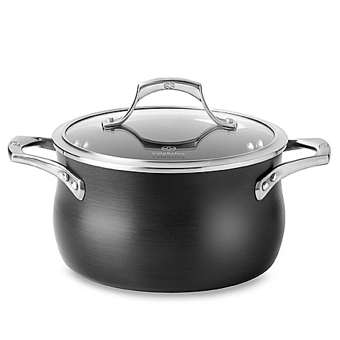 Calphalon 174 Unison Slide Nonstick 4 Quart Soup Pot Bed