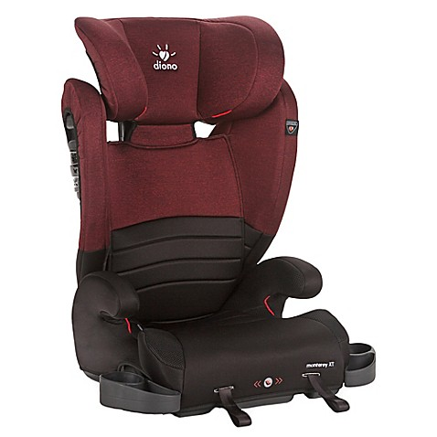 booster car seats diono monterey xt adjustable highback booster in red from buy buy baby. Black Bedroom Furniture Sets. Home Design Ideas