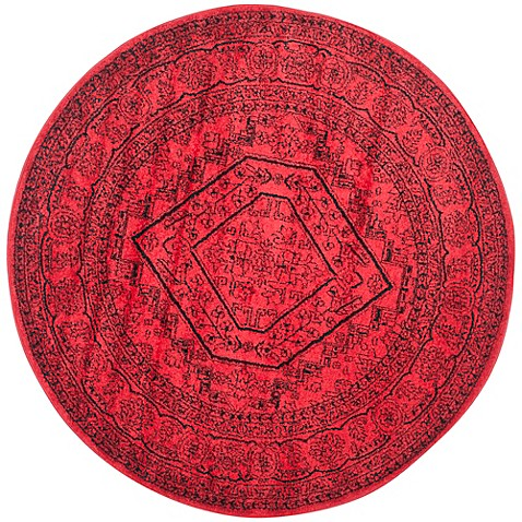 Buy Safavieh Adirondack Traditional Floral 8 Foot Round