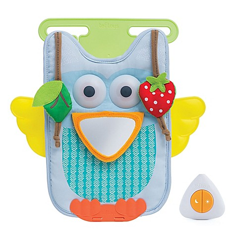 car seat accessories taf toys musical owl car toy from buy buy baby. Black Bedroom Furniture Sets. Home Design Ideas