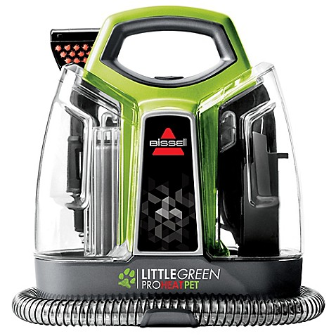 bissell little green instructions how to clean