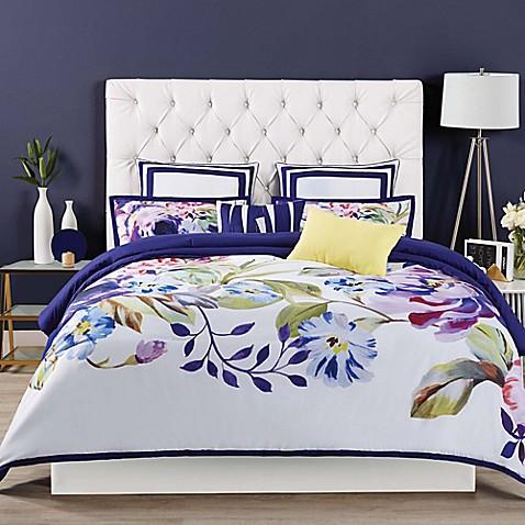 Christian Siriano Garden Bloom Comforter Set Bed Bath