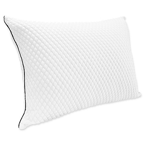 Therapedic TrucCool Back/Stomach Down Alternative Pillow in White - Bed Bath & Beyond