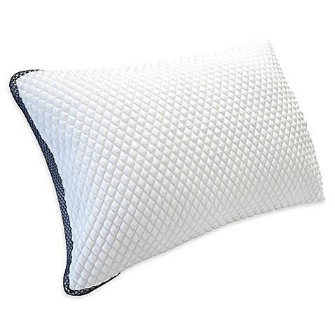 Therapedic® TruCool® Down Alternative Standard/Queen Side Sleeper Pillow in White at Bed Bath & Beyond in Cypress, TX | Tuggl