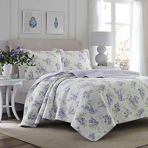 Laura Ashley 174 Keighley Quilt Set Bed Bath Amp Beyond