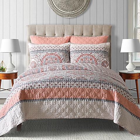 Toren Cotton Reversible Quilt Bed Bath Amp Beyond
