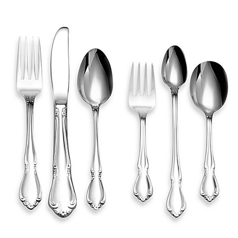 Oneida 174 Chateau 6 Piece Children S Progress Flatware Set