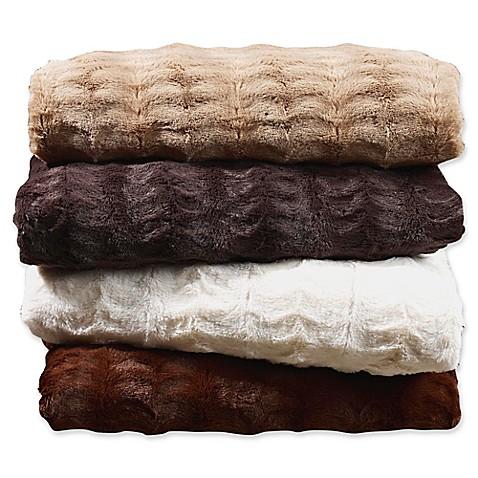 Embossed Faux Mink Blanket at Bed Bath & Beyond in Cypress, TX   Tuggl