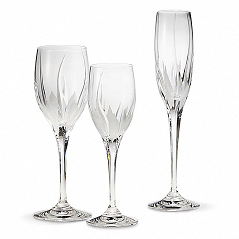 Buy Mikasa 174 Flame D Amore 6 Ounce Crystal Wine Glass From
