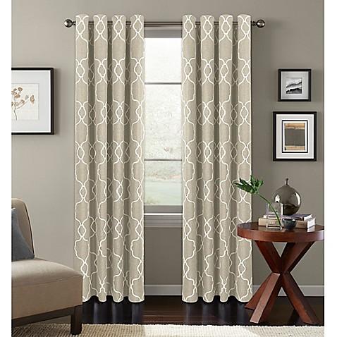 Colordrift Mandy Grommet Top Room Darkening Window Curtain Panel Bed Bath Beyond
