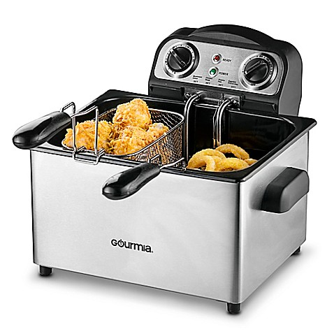 Gourmia Fry Station Deep Fryer Plus 2.0 in Stainless Steel ...