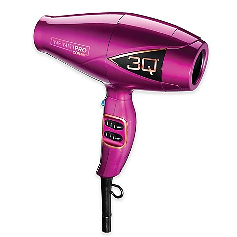 Infiniti Pro by Conair® 3Q Brushless Motor 1875-Watt Hair Dryer in Magenta at Bed Bath & Beyond in Cypress, TX | Tuggl