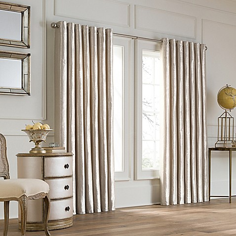 Valeron Lustre Grommet Top Double Width Window Curtain