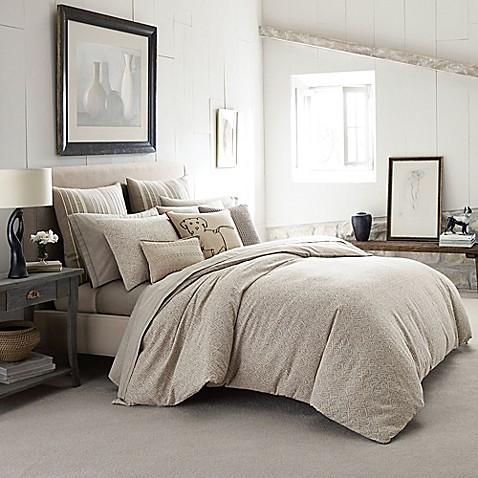Ed Ellen Degeneres Mosaic Tile Comforter Set In Light Beige Bed Bath Beyond