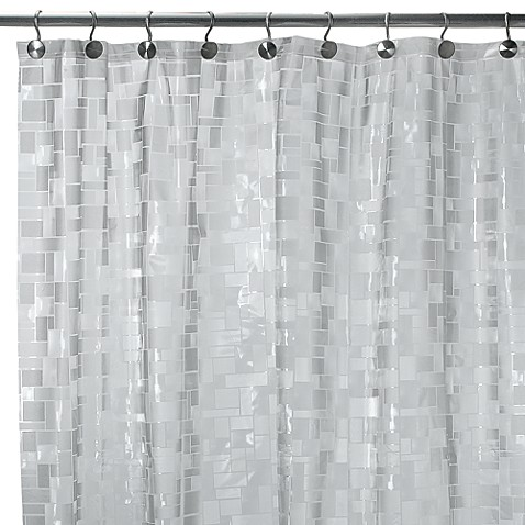 Ice Cubes Vinyl 70 Inch W X 72 Inch L Shower Curtain Bed