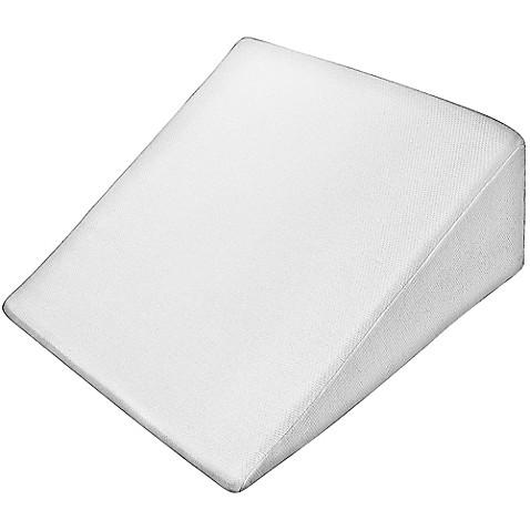 Pharmedoc 174 Orthopedic Wedge Pillow In White Bed Bath