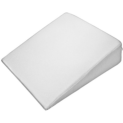 Pharmedoc 174 Standard Wedge Pillow In White Bed Bath Amp Beyond