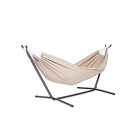 Vivere 9 Foot Double Hammock In Sunbrella 174 Fabric With