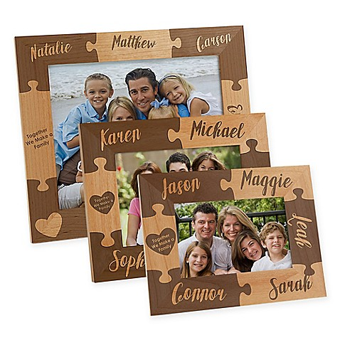 Together we Make a Family Engraved Picture Frame at Bed Bath & Beyond in Cypress, TX | Tuggl