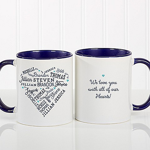 Close to Her Heart 11 oz. Coffee Mug in Blue at Bed Bath & Beyond in Cypress, TX | Tuggl