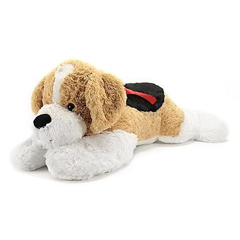 Buy Jumbo Dasher Dog Plush In Black Beige White From Bed