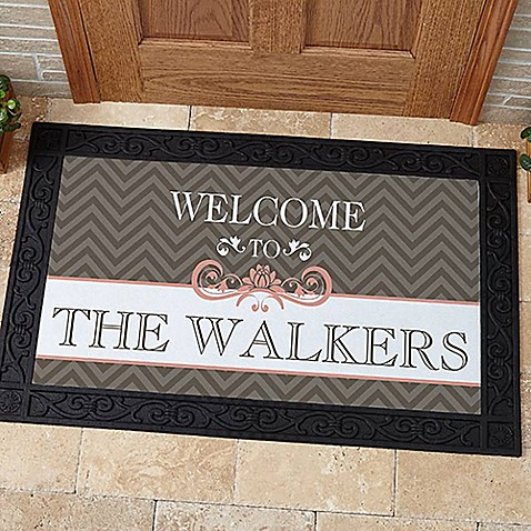 Classic Chevron Door mat at Bed Bath & Beyond in Cypress, TX   Tuggl